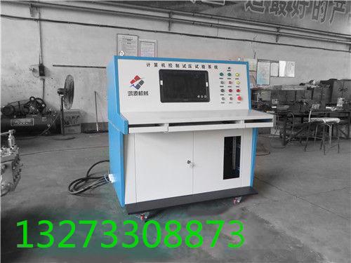计算机控制系统试压泵结构介绍*