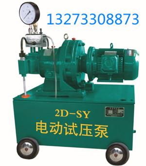 2D系列电动试压泵整体概述*