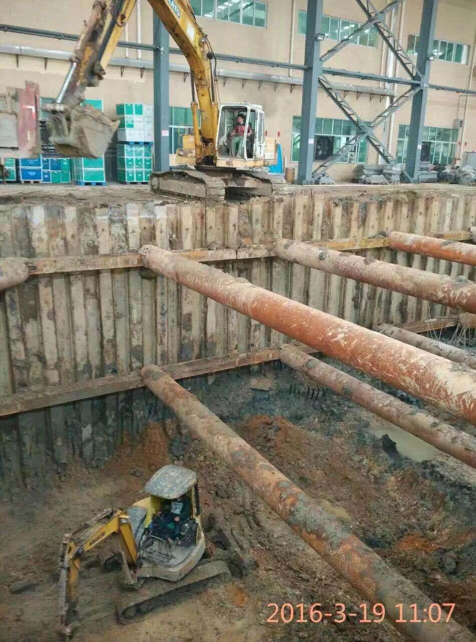 拉森钢板桩项目|光伏水泥桩施工|建筑基础工程