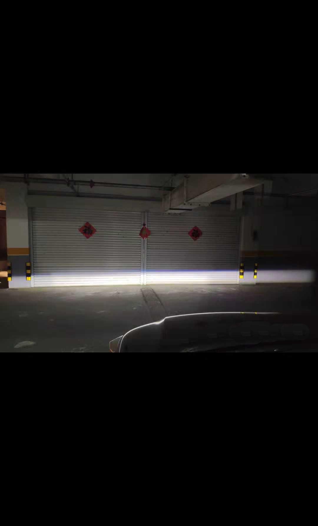 三菱欧蓝德LED前雾灯改装升级款
