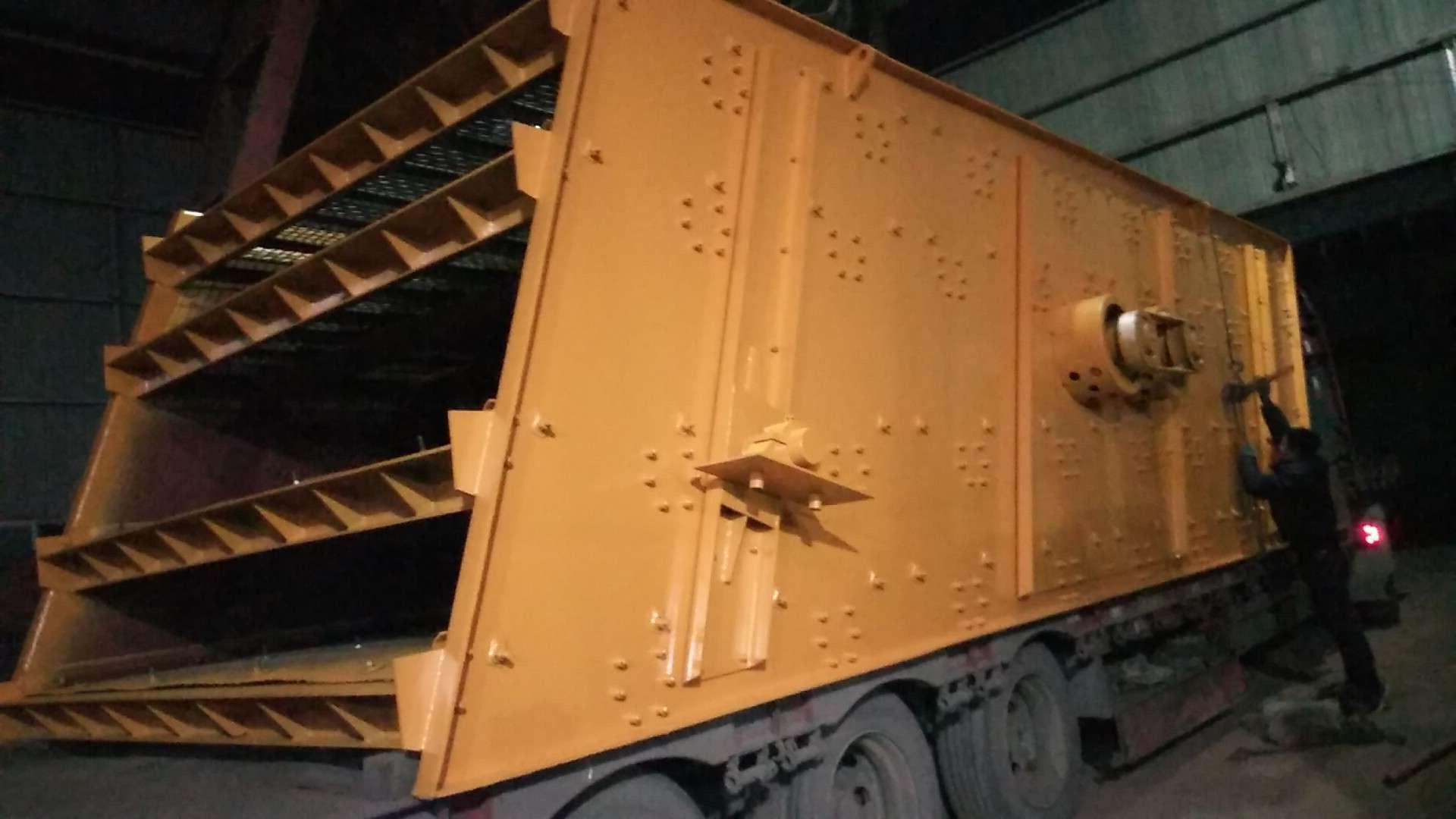湖北圆形振动筛制作商-河南具备口碑的矿用重型振动筛供给商是哪家