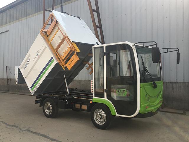 漯河侧装式吊桶垃圾车-在哪可以买到彦鑫牌侧装垃圾分类运输专用车