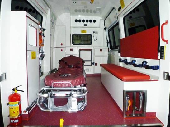 DS德晟医疗奔驰新威霆国六排放救护车作用怎么样