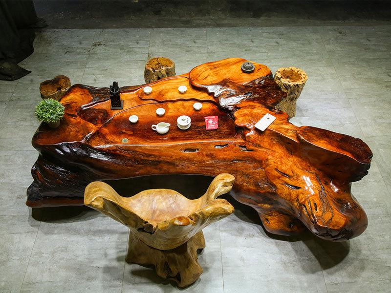 质量好的根雕茶台供销-实木根雕茶台