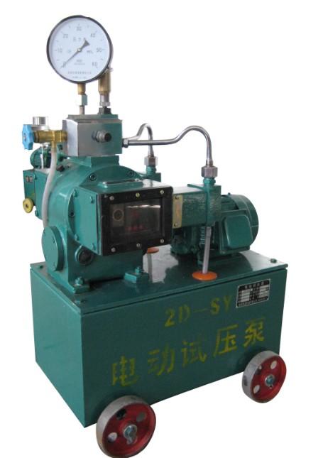 试压泵试压中发现故障的排除方法