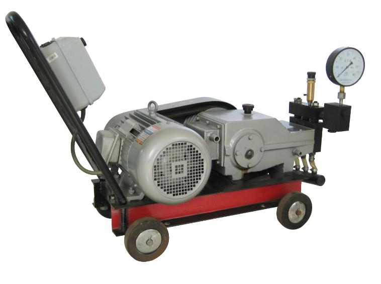 试压泵使用前的准备工作