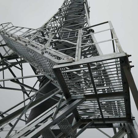 废气玻璃钢烟囱塔架_河北玻璃钢烟囱塔架费用