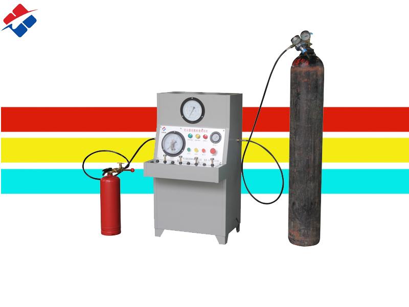 灭火器氮气充装机适用于干粉灭火器氮气充装使用/