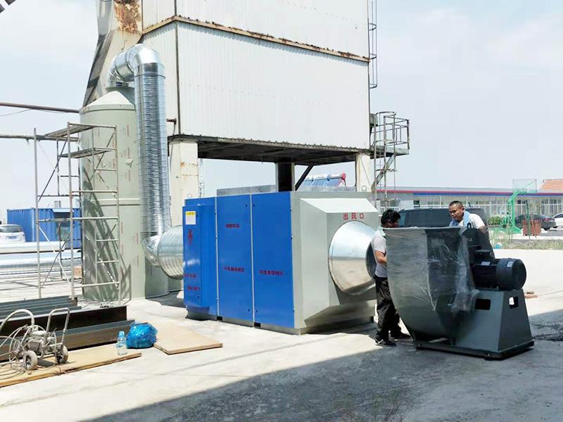 瀝青煙處理設備定制_潤滕環保提供實用的瀝青煙處理設備