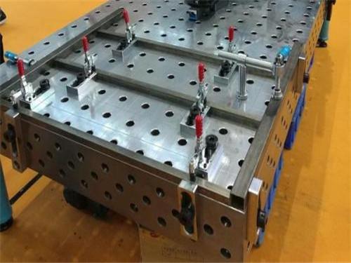 三维焊接工装_泊头创威机械大量供应三维柔性焊接平台