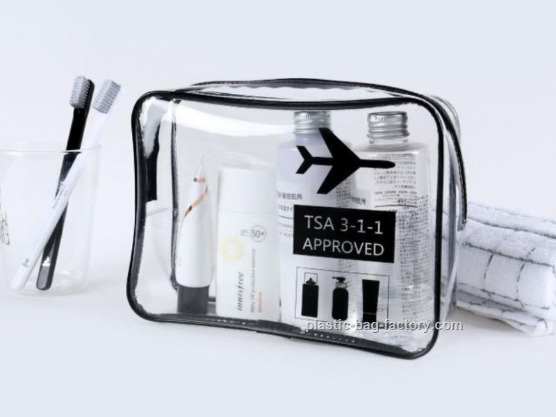 TPU透明化妆袋,TPU旅行洗漱袋,TPU透明旅行套装包