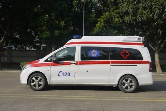 救护车报价-德晟医疗高性价奔驰新威霆国六排放救护车出售