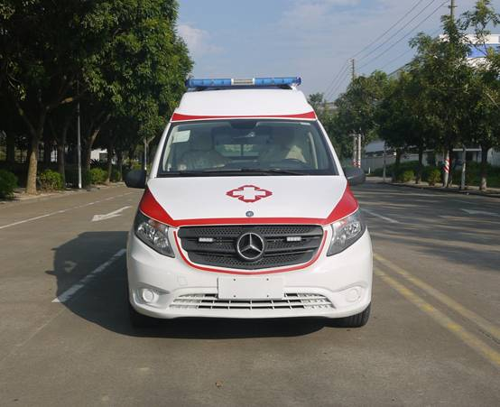 奔驰新威霆国六排放救护车