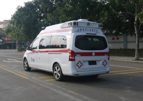 救护车厂家器械设备|广州哪里有供应实用的奔驰新威霆国六排放救护车