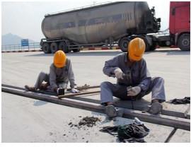 湖北咸宁罐轨道填充沥青砂具体施工步骤