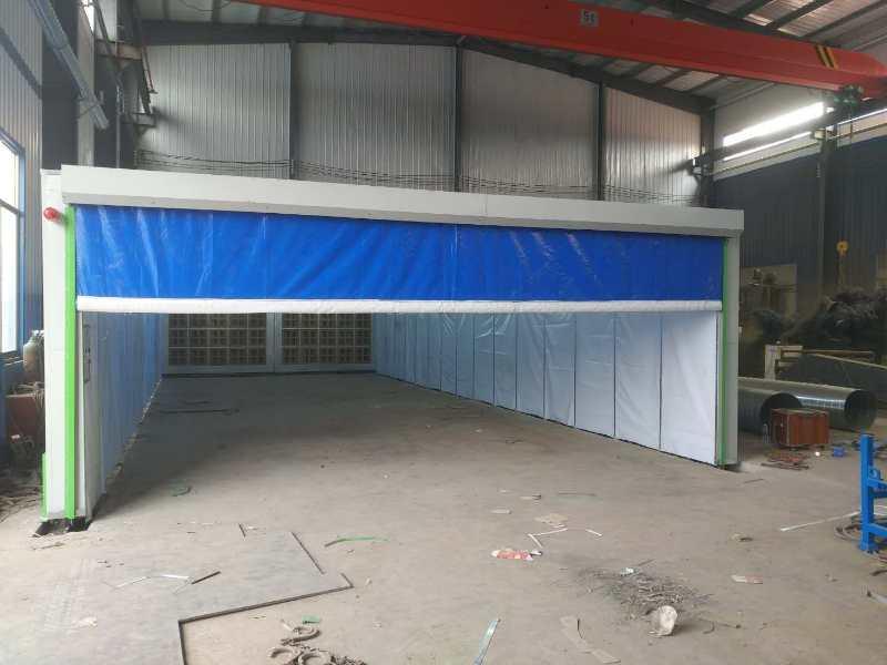 移动式伸缩喷漆房电动喷漆房机械设备喷漆房
