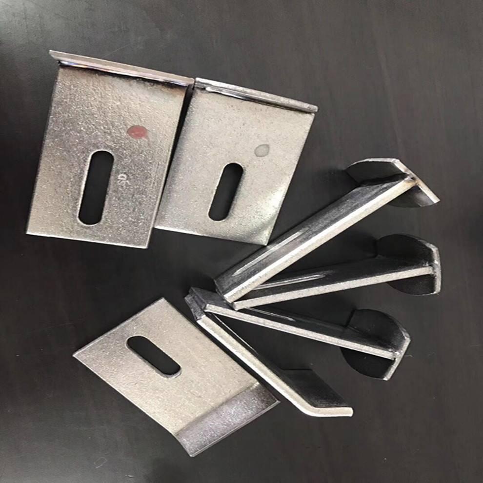 厂家直销201 304不锈钢挂件角码 双钩 T型件 焊接件