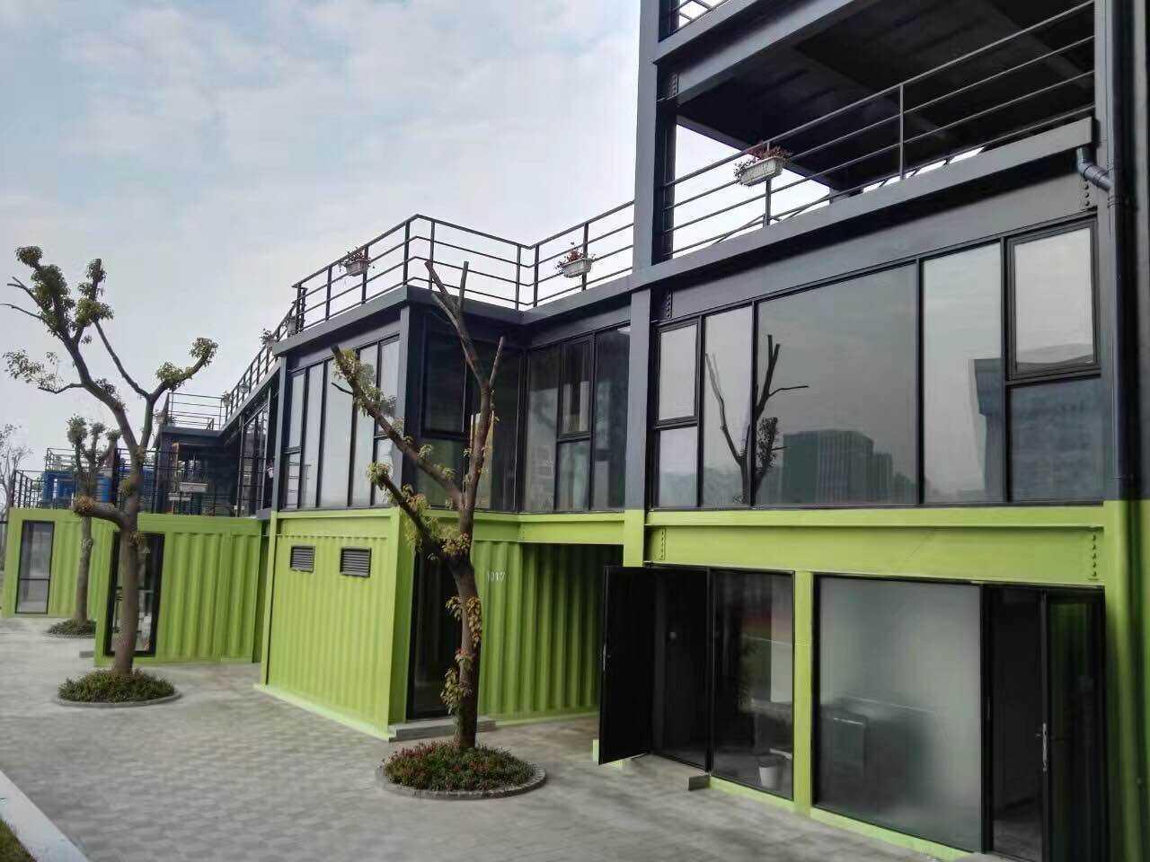 宁波移动板房-住人集装箱-移动办公房出租