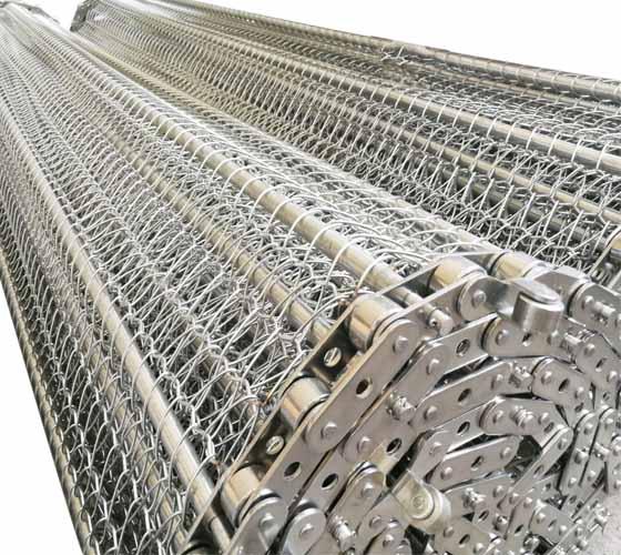 不锈钢网带在行业应用中的优势以及重要性