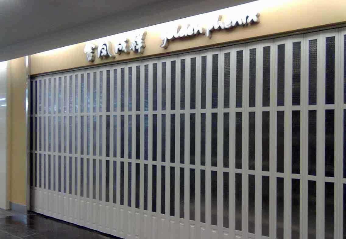 惠州电动水晶门定制 福临门卷闸门专业提供水晶门