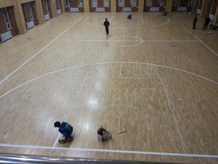 沈阳运动木地板|篮球馆运动木地板选辽宁优体地板
