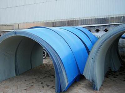 彩钢防雨罩的超耐侯防腐强力复合瓦材料