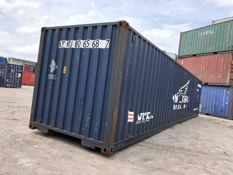 龙岩集装箱销售|福建信誉好的40GP二手集装箱厂商