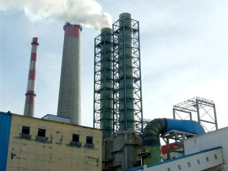 热电厂防腐烟囱