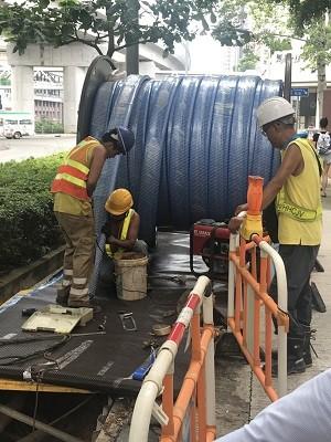 广州给水管道非开挖修复-迪升探测工程