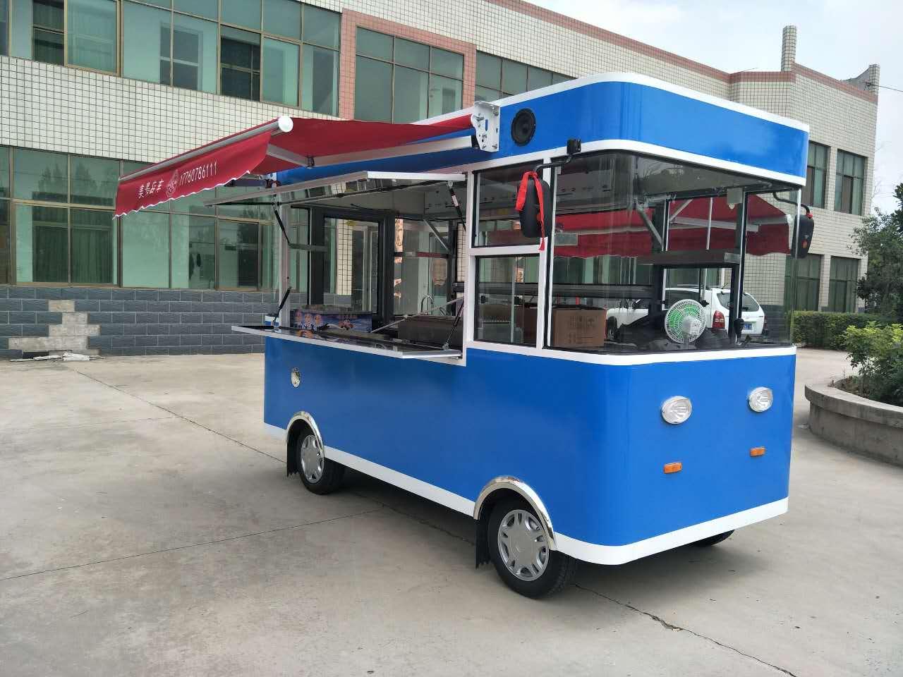 卤菜熟食店车加盟排行榜  冰淇淋车成本 加盟店车奶茶饮料