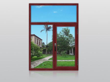 隔熱鋁合金平開窗安裝,廠家出售