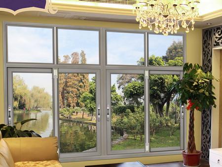 隔热铝合金平开窗批发 新款隔热铝合金平开窗在哪可以买到