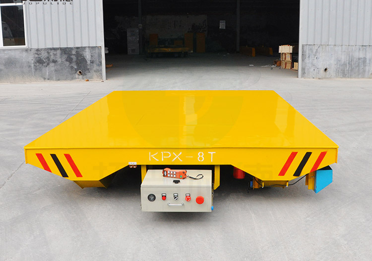 拓普利德搬运低价直供安徽滁州电动平车四轮柴油运输地平车