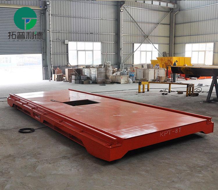 非标定制平板导轨车 20T50T拖电缆电动平车厂家直供