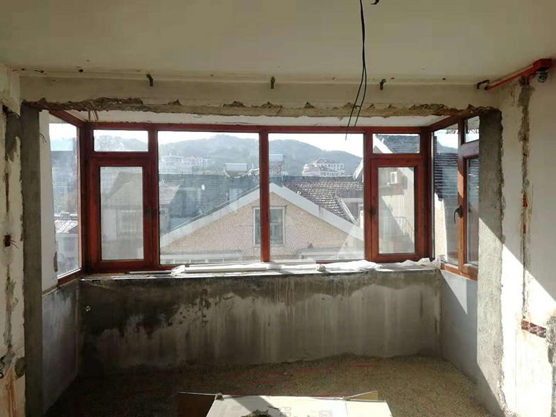 【凤鸟门窗】烟台门窗加工厂家 烟台系统门窗 烟台铝包木门窗