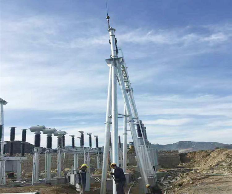 变电站龙门架构-衡水变电站构架厂家