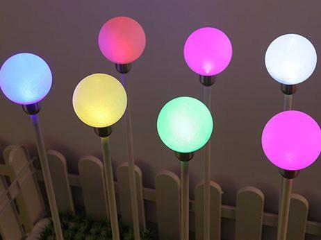 亚克力过道灯,亚克力圆球灯罩价格,插地灯厂家