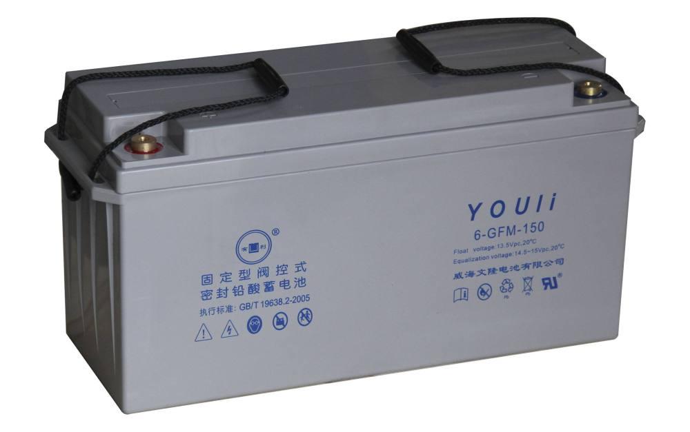 有利蓄电池6-GFM-150 威海文隆 有利电池