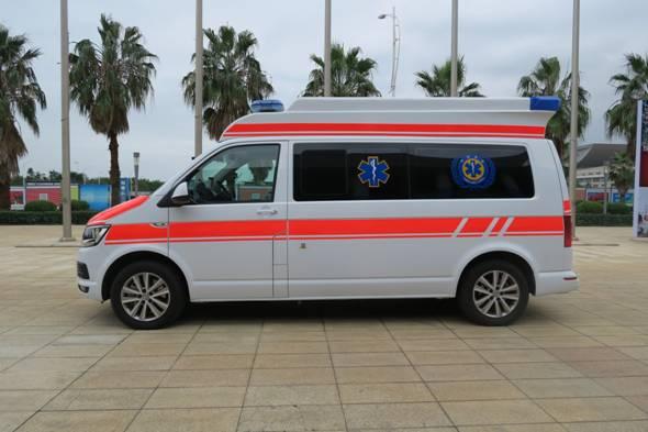 救护车设备厂家/大众T6监护型救护车/DS德晟医疗