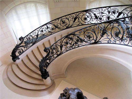 大亚湾铁艺大门|高质量的铁艺楼梯扶手哪里买