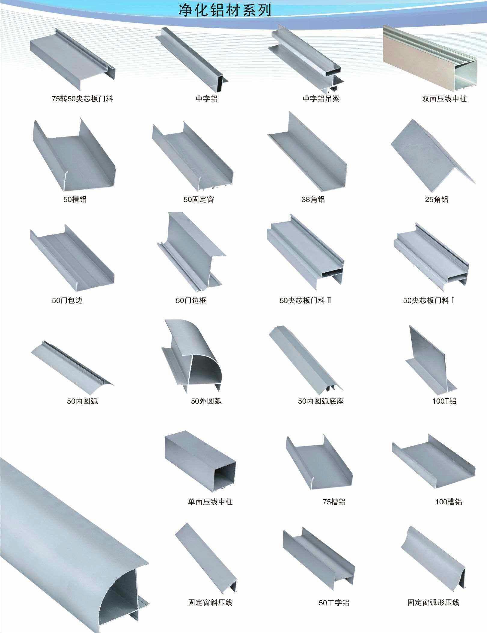 哪有供应专�业的净化铝材 _断桥门窗铝材