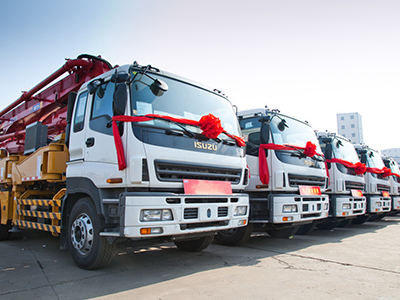 贵州二手工程机械租赁-大量出售二手泵车