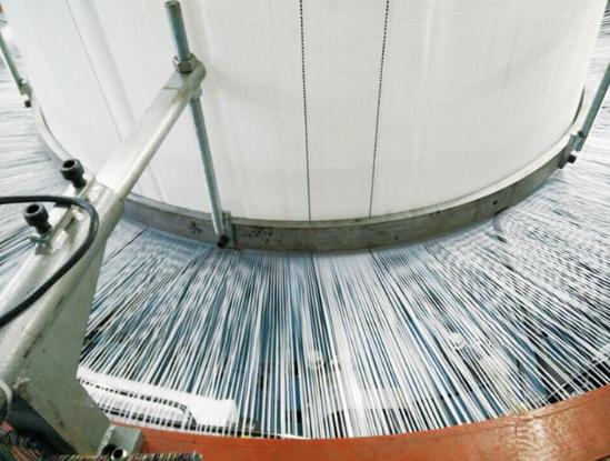 【玖资塑料】消防水带圆织机_水袋圆织机_烟台水袋机_生产厂家