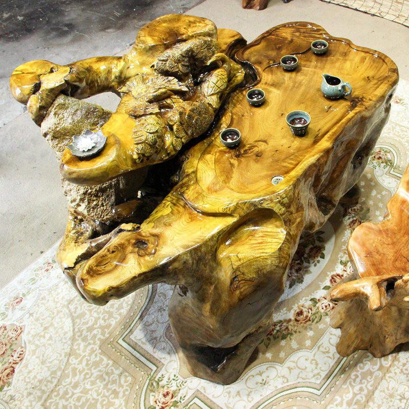 厂家直销根雕茶台供销-划算的金丝楠木实木茶台