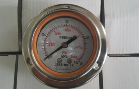 軸向帶邊壓力表找上海儀表 Y-103/63B-F 價格實惠