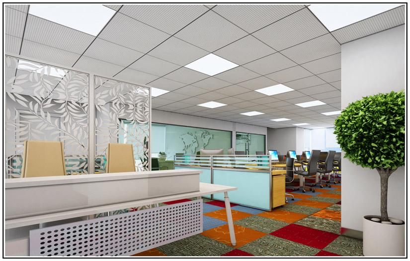 办公室装修效果图|可信赖的办公室装修推荐