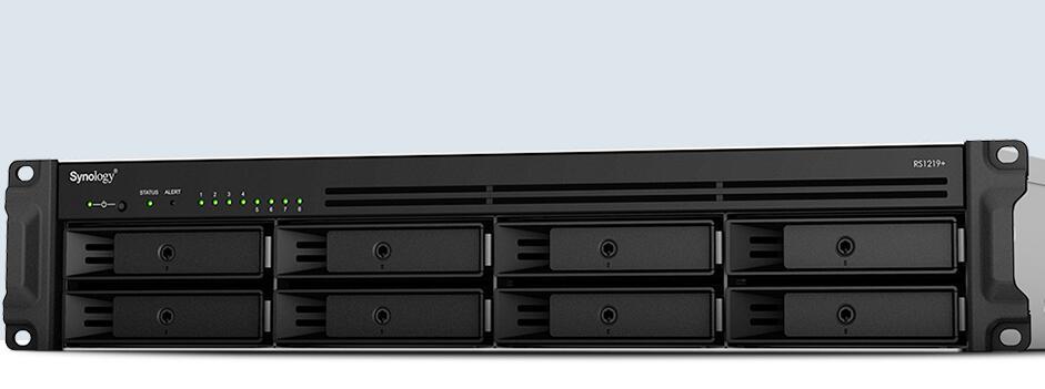 ¥群晖NAS RS1219+ 企业机架存储服务器 山东代理