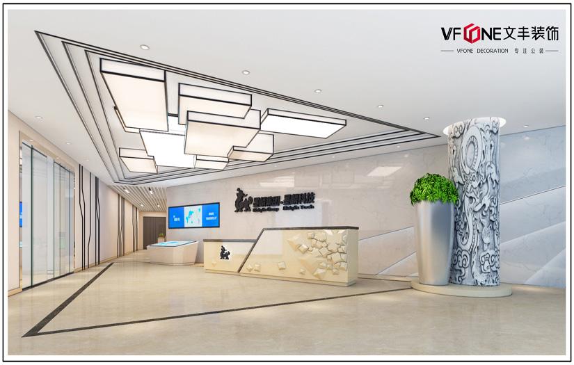 辦公室裝修實景圖-深圳辦公室裝修公司
