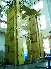 哈尔滨松花江节能电炉厂-立式烘干炉