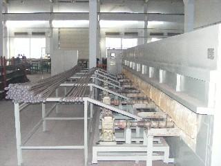 哈爾濱松花江節能電爐廠——抽油桿油管回火爐